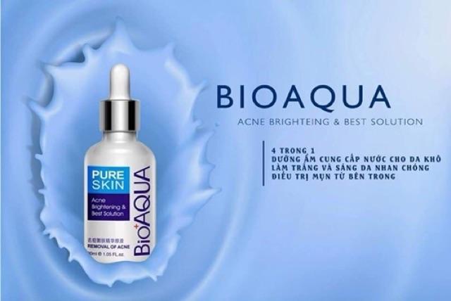 [RẺ VÔ ĐỊCH] Serum mụn trứng cá Bioqua 30ml