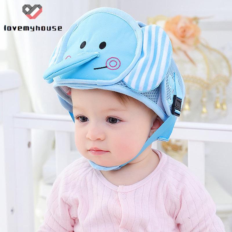 Mũ bảo hiểm chống va chạm an toàn cho bé