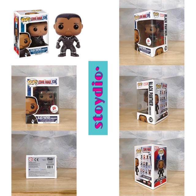Mô Hình Funko POP! BLACK PANTHER – Civil War (Walgreens Exclusive)