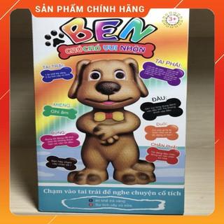 VIETNAM- Chú chó BEN vui nhộn thông minh biết kể chuyện , phát nhạc , ghi âm nhại lời nói