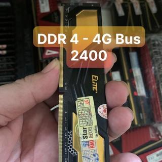 DDR4 Ram 4G - Bus 2133 2400 Team Elite Tản Nhiệt Chân Ram Đẹp - Vi Tính Bắc Hải thumbnail