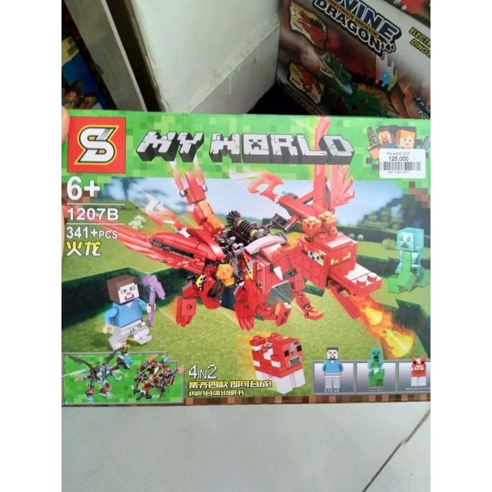 đồ chơi lego minecraft