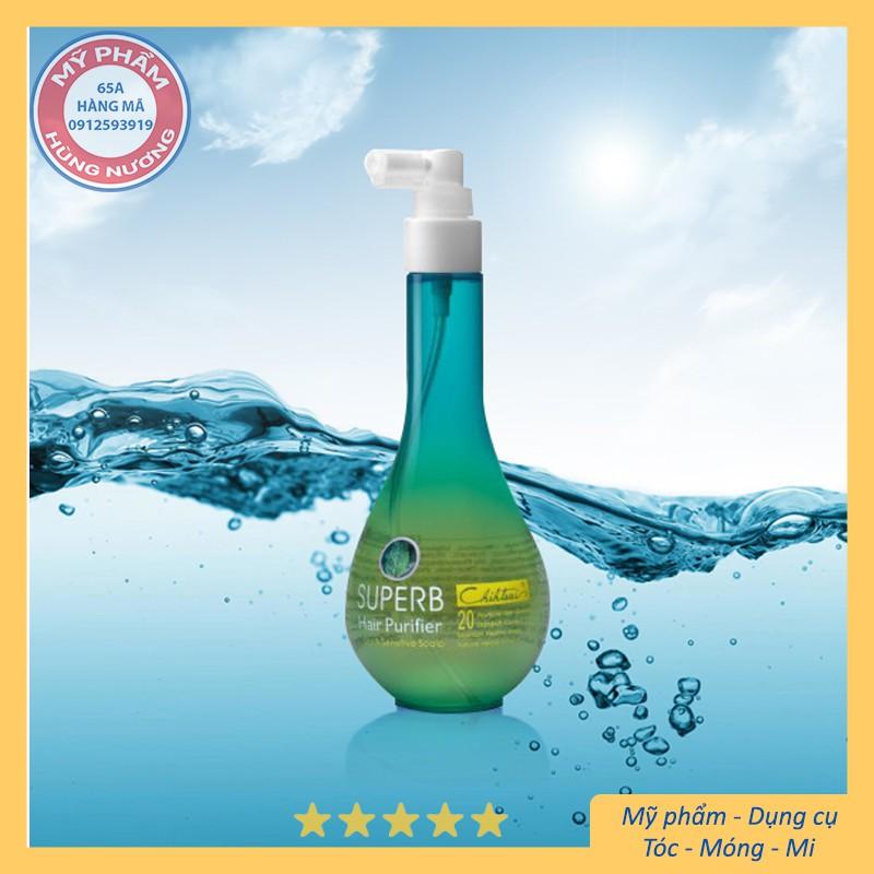 Tinh dầu làm sạch gầu ngứa và dịu da đầu Chihtsai No.20 Superb Hair Purifier 250ml