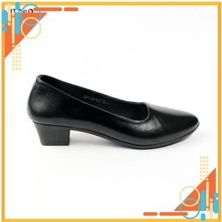 Giày nữ - gia y cao go t nu 3p HT. NEO (5) 100% da bò, đế cao su non dễ đi, chiều cao gót 3cm, kiểu dáng tinh tế CS153 thumbnail