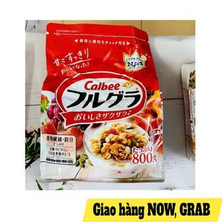 Ngũ cốc trái cây Calbee 800gram thumbnail