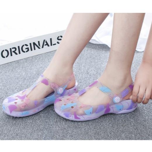 Giày nữ mùa hè -  giày đế xuồng- giày búp bê- giày nữ y tá- giày đi trong bệnh viện, phòng khám