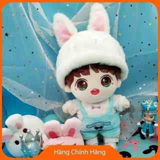[Hỗ trợ giá] Set thỏ cho doll 15,20cm_Chính hãng
