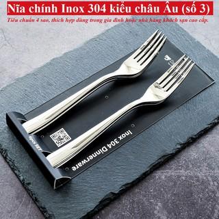 [Sale] Bộ 6 nĩa inox 304 DandiHome 2020 cao cấp, sang trọng, tinh tế