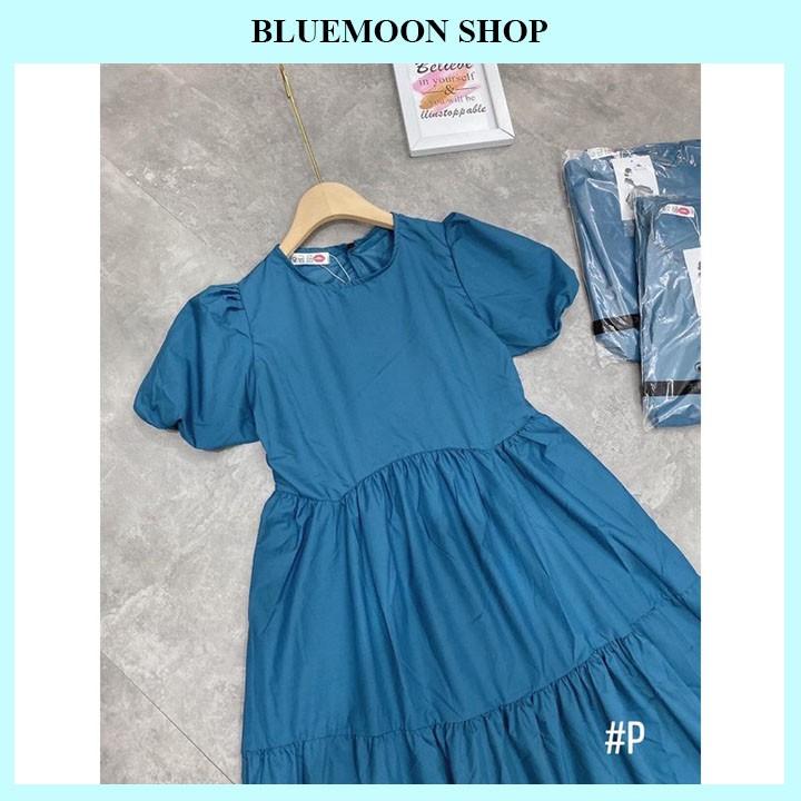 Mặc gì đẹp: Dễ chịu với Váy Bầu Công Sở 💝 SIÊU HOT 💝 Đầm Bầu Thiết Kế Dáng Suông Lụa Xanh Cao Cấp