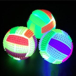 Quả bóng gai cao su có đèn LED phát sáng