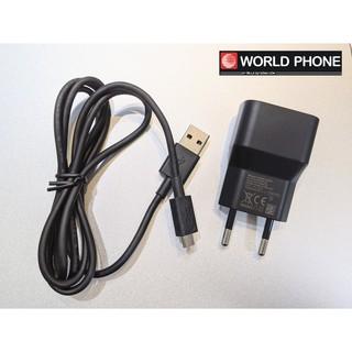 [Mã ELFLASH5 giảm 20K đơn 50K] Sạc cáp điện thoại Blackberry cổ nguồn 850mA chính hãng, BB 9700, 9900, Q10, Z10, Q20