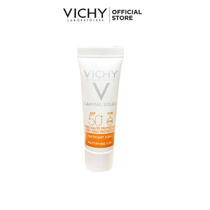 Bộ sản phẩm serum khoáng phục hồi chuyên sâu Vichy Mineral 89