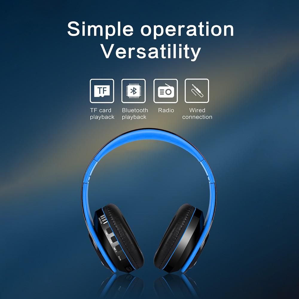 Tai nghe chụp tai Pulierde FG69 Hi-Fi Bluetooth 5.0 không dây có thể gấp gọn