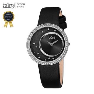 Đồng hồ thời trang nữ Burgi BUR271 Nhiều Màu Mặt Số Sunray Độc Đáo Dây Da 33mm thumbnail