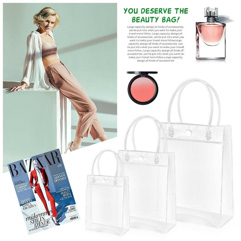 Túi xách nhựa trong suốt độc đáo thời trang tiện lợi cho nữ