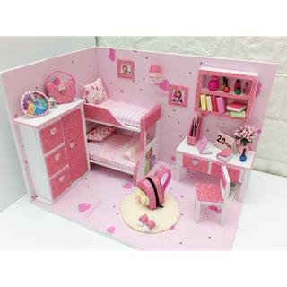 Nhà búp bê dollhose pinky roombox
