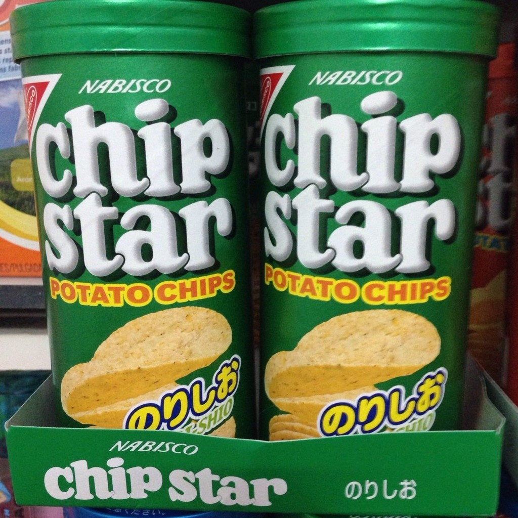Bánh Khoai Tây Chip Star Vị Tảo Biển