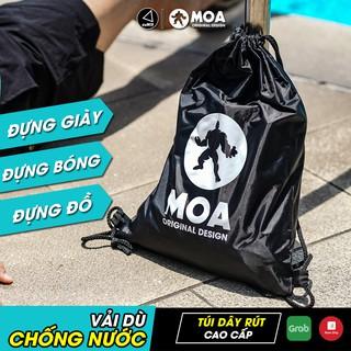 Túi dây rút thể thao mini vải dù chống nước, đựng giày, đựng bóng, đựng đồ tiện dụng (30x40cm) - AMBERVIETNAM thumbnail