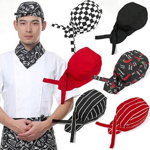 SMYR_Pirates Chef Tableware Skull Kitchen Cap Professional Catering Various Chef Hat
