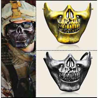 (M377) mặt nạ hóa trang đầu nâu
