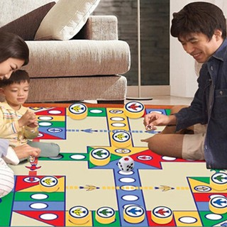 Baby Kids Carpet Play Mat Gym Educational Education Crawl Flying Chess Blanket