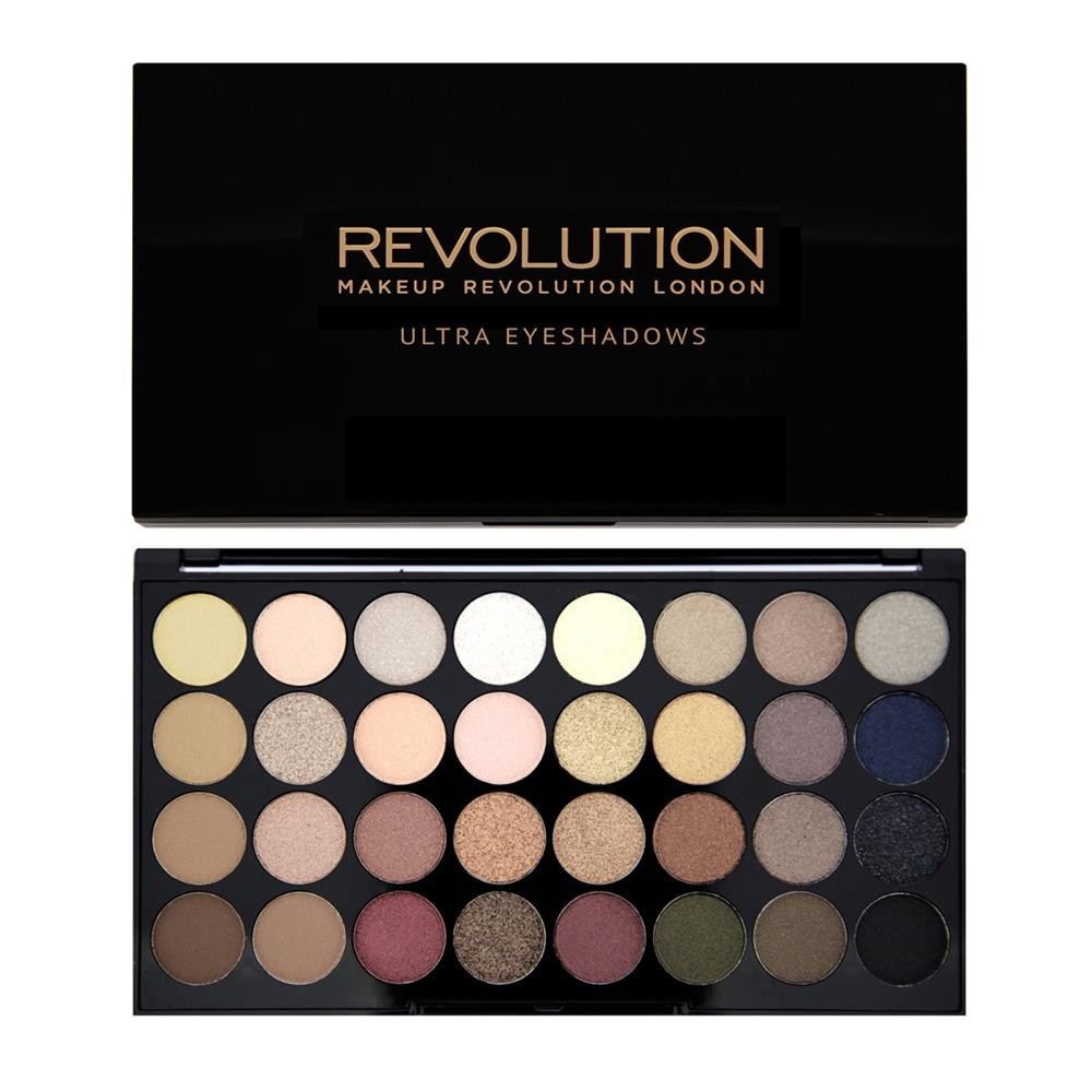 Bảng Màu Mắt 32 ô REVOLUTION Flawless Ultra Shadow – Makeup Revolution London