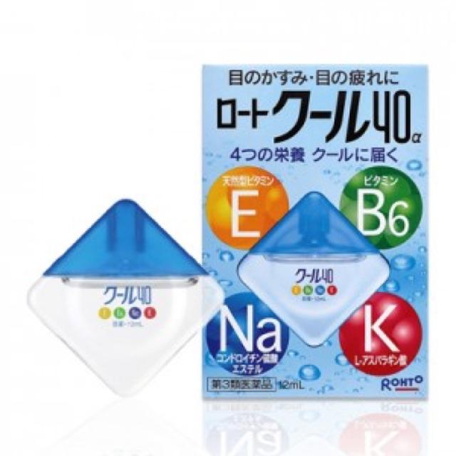 Thuốc nhỏ mắt Cool vitamin 40 Rohto