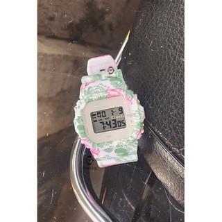 [watches.sg] G.S 5600 Vuông Dây Phối Hoạ Tiết mới HOT cho nam và nữ