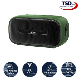 Loa Bluetooth Hoco BS43 Chính Hãng V5.0 Wireless Speaker Chống Nước IPX7
