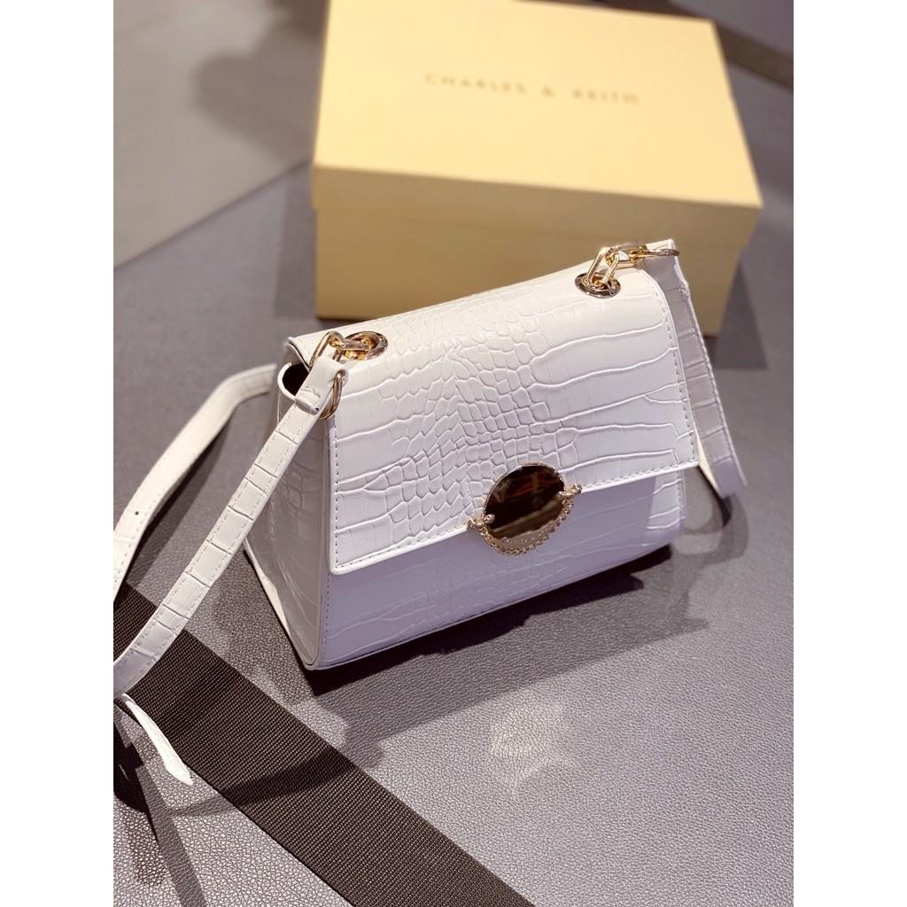 Túi xách nữ khóa tròn trời trang sang trọng hàng đẹp CKTRON01