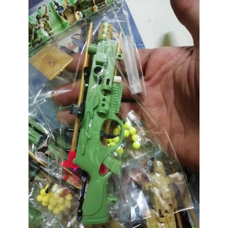 Vĩ đồ chơi súng cung bắn dính đẹp, an toàn CHO TRẺ EM