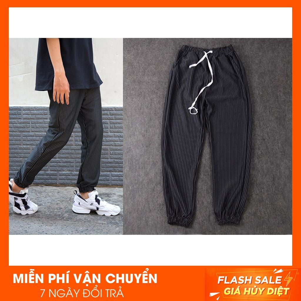Quần Jogger Striped Pants - [ẢNH THẬT]