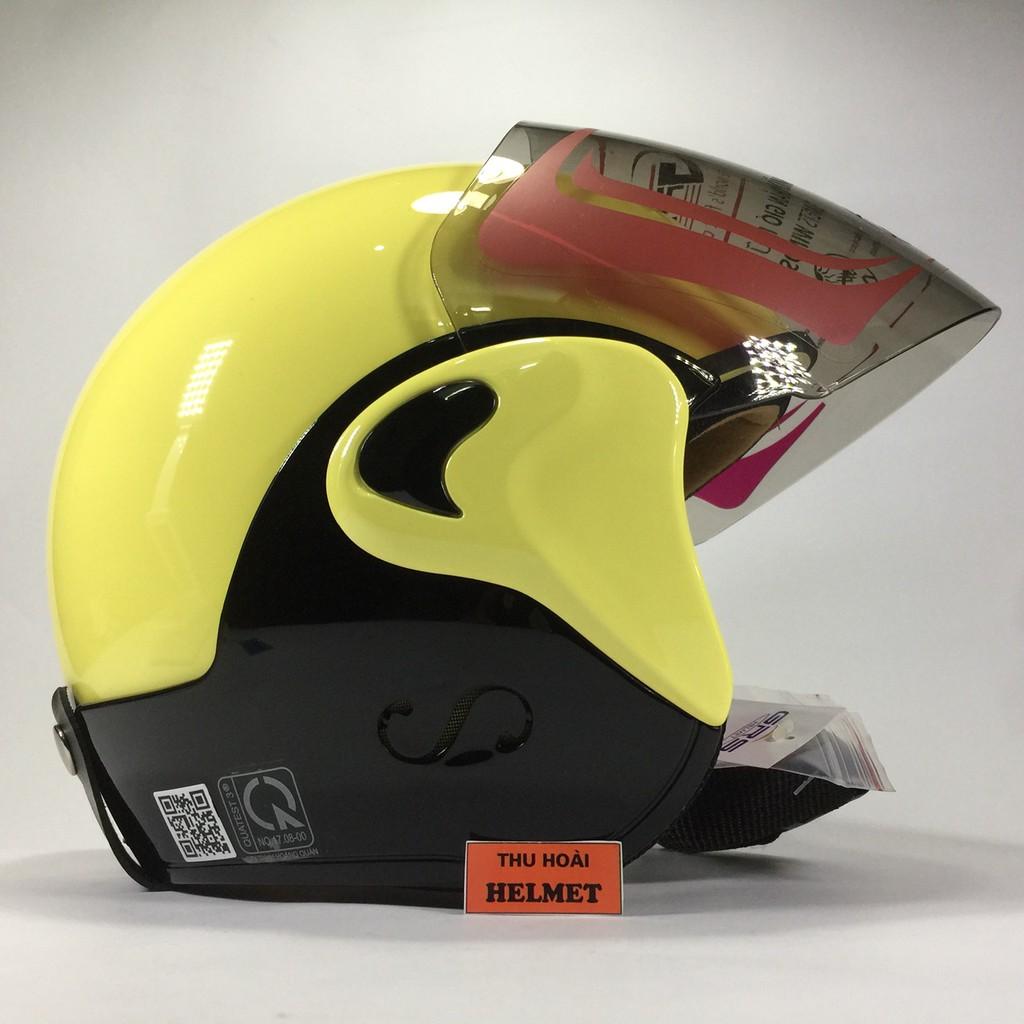 Mũ bảo hiểm GRS A318K vàng