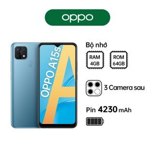 Điện thoại OPPO A15s (4GB 64GB) - Hàng Chính Hãng thumbnail