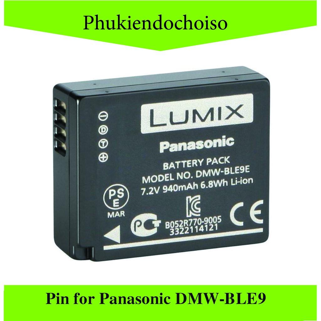 Pin thay thế pin máy ảnh for Panasonic DMW-BLE9E