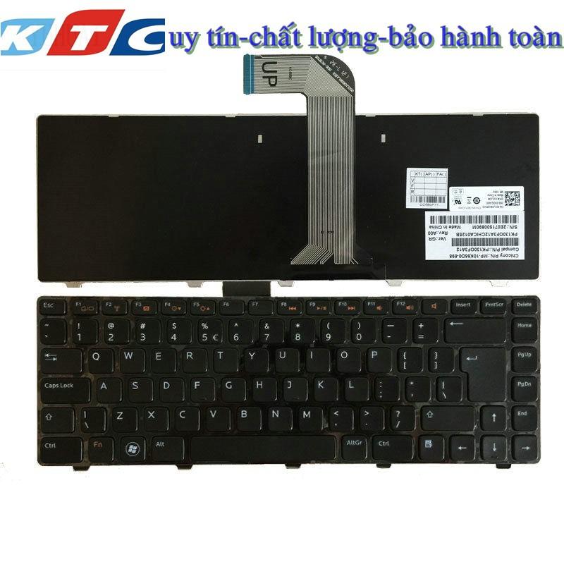 Bàn Phím Laptop Dell Inspiron N4110 1450 3420 3450 3460 4050 5520 5050 1440 hàng zin có đèn led
