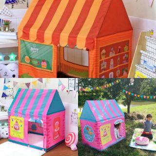 Lều vải hình ngôi nhà cho các bé
