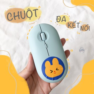 Chuột Máy Tính Không Dây Bluetooth – Kết Nối Kép