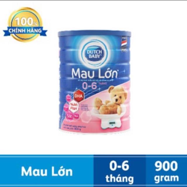 [Nhập MKBCFCV10 giảm % đơn 450K] (HCM) Sữa bột Dutch Lady Mau Lớn 900g