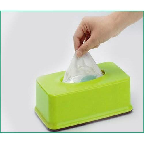 [Ưu _Đãi_ Lớn] Sản Phẩm Hộp đựng giấy ăn màu xanh