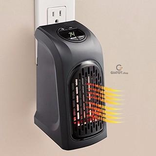 ♨️♨️♨️Máy sưởi Mini Handy Heater - Quạt sưởi mimi, có hẹn giờ, cắm điện trực tiếp