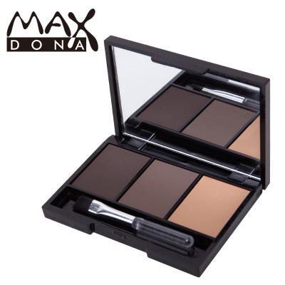 Bảng phấn trang điểm lông mày Maxdona 3 màu thumbnail