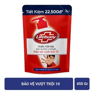 Hình ảnh Nước rửa tay Lifebuoy Bảo vệ khỏi vi khuẩn 450gr (Túi)-2