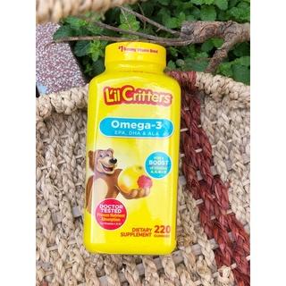 Kẹo gấu bổ sung vitamin và DHA cho bé thông minh trên 2y