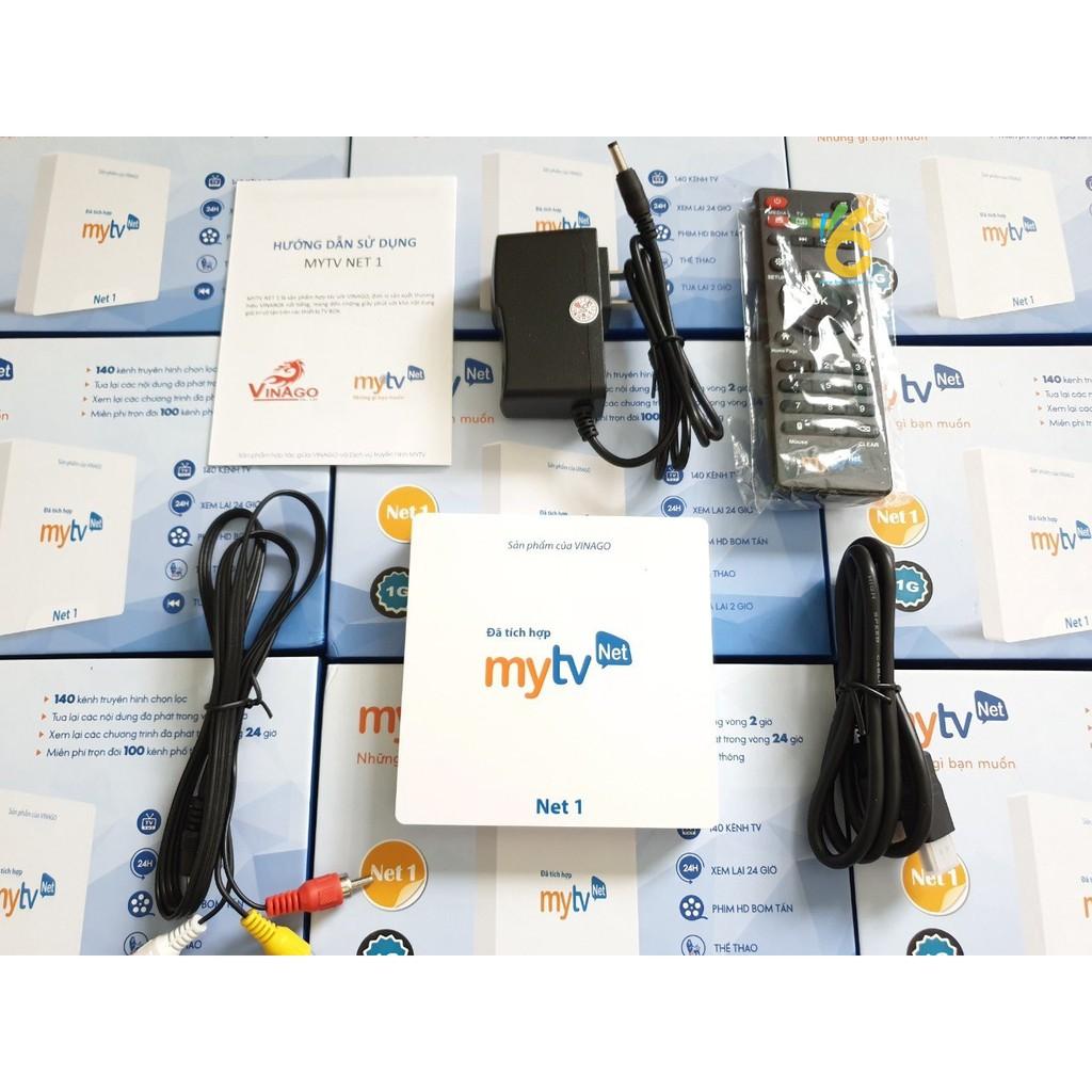 Đầu androidbox MYTV NET1 RAM 2GB Tích hợp tìm kiếm bằng giọng nói.