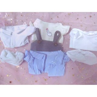 Outfit cho doll 20cm