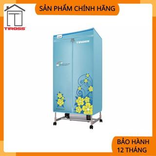 [Tiross – Việt Nam] Máy sấy quần áo tiross tủ hình chữ nhật, có điều khiển từ xa, 1500W