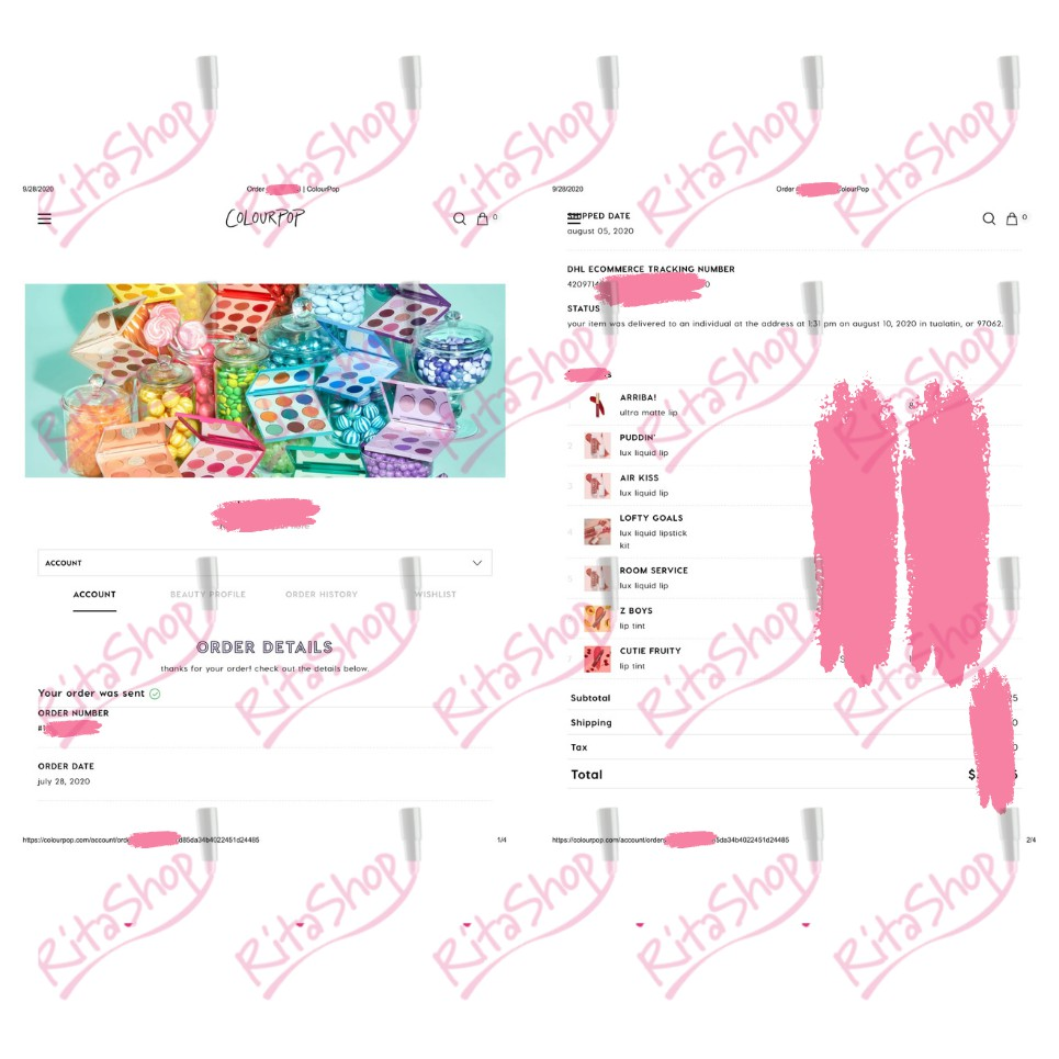 Son kem lì matte Colourpop Lux Velvet Liquid Lipstick - Son Colourpop Lux