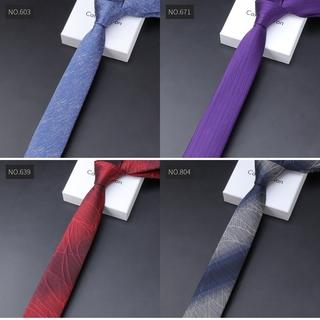 Cà Vạt Lụa Đen Dài 6cm Phong Cách Doanh Nhân Nam Tính