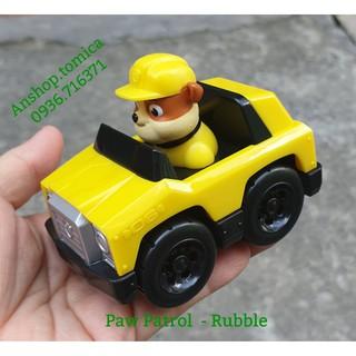 Mô hình xe chú chó Rubble trong phim hoạt hình Đội Chó Cứu Hộ thumbnail